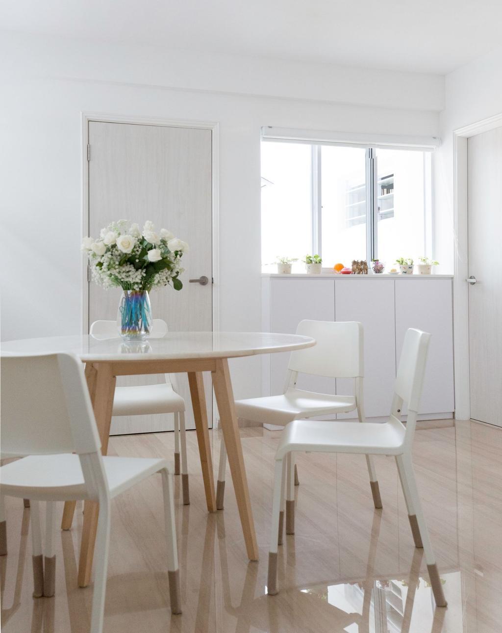 Contemporary, HDB, Dining Room, Yishun Street 61, Interior Designer, Carpenters 匠