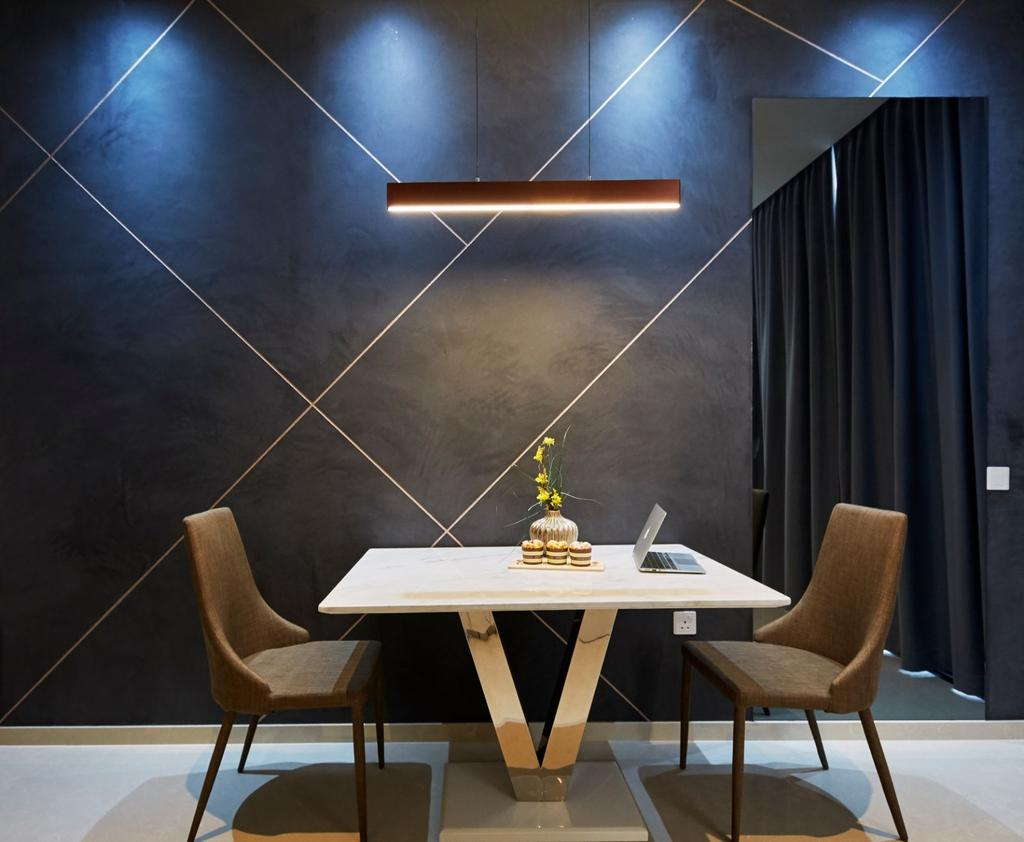 Contemporary, Condo, Dining Room, Prince Charles Crescent, Interior Designer, Carpenters 匠