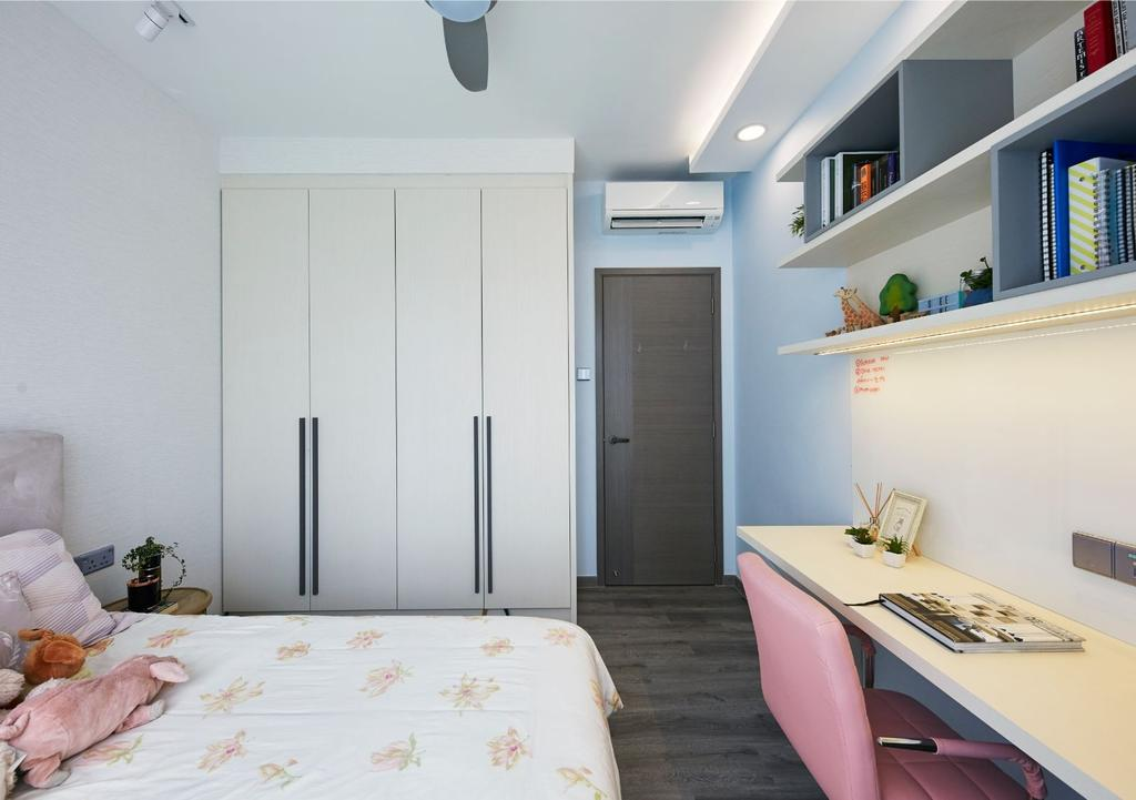 Contemporary, Condo, Bedroom, The Clearwater, Interior Designer, Carpenters 匠