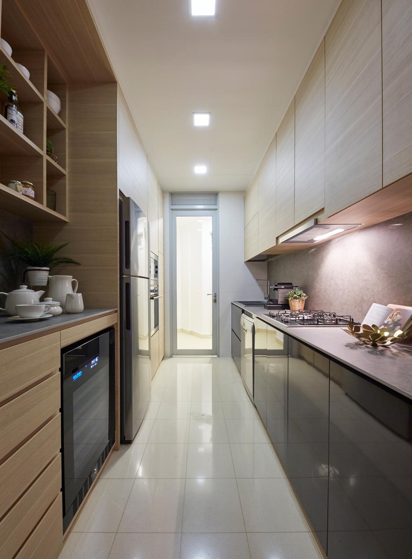 Scandinavian, Condo, Kitchen, The Inspira, Interior Designer, Carpenters 匠