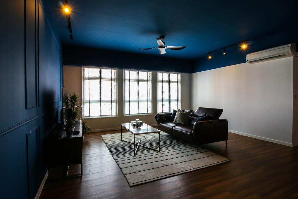 Contemporary, HDB, Living Room, Canberra Walk, Interior Designer, Carpenters 匠