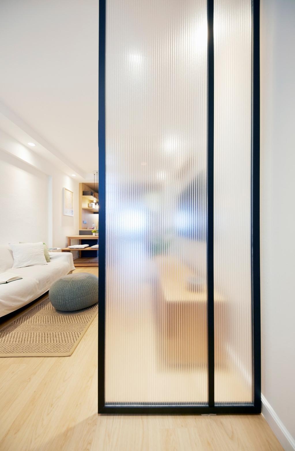 Scandinavian, HDB, Living Room, Clementi Avenue 4, Interior Designer, Carpenters 匠