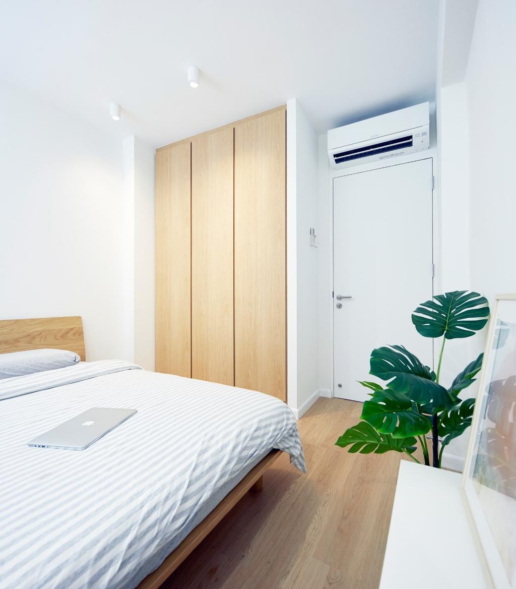 Scandinavian, HDB, Bedroom, Clementi Avenue 4, Interior Designer, Carpenters 匠