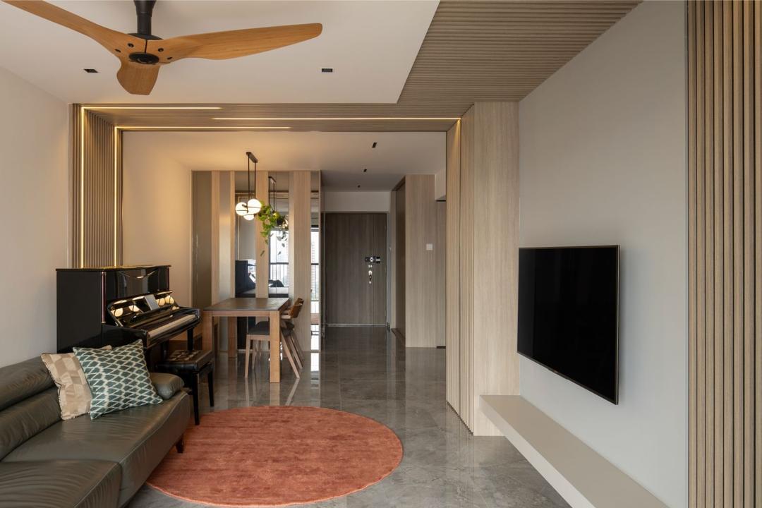 Bishan Street 24 Living Room Interior Design 8