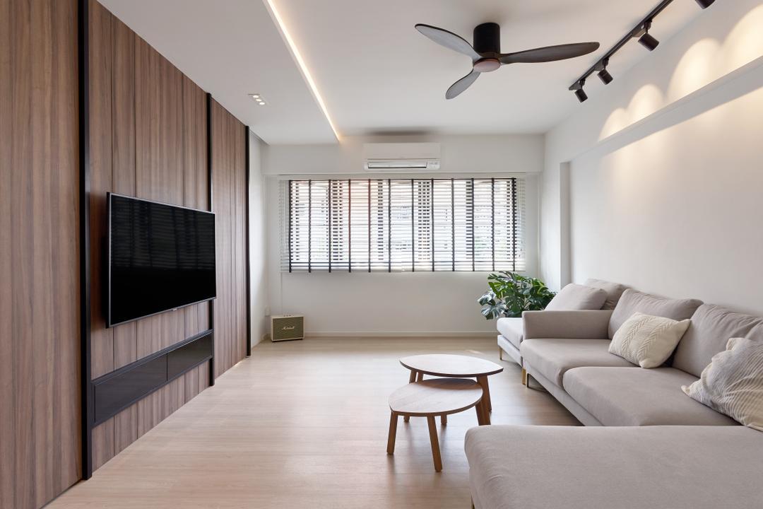 Hougang Avenue 5 Living Room Interior Design 3
