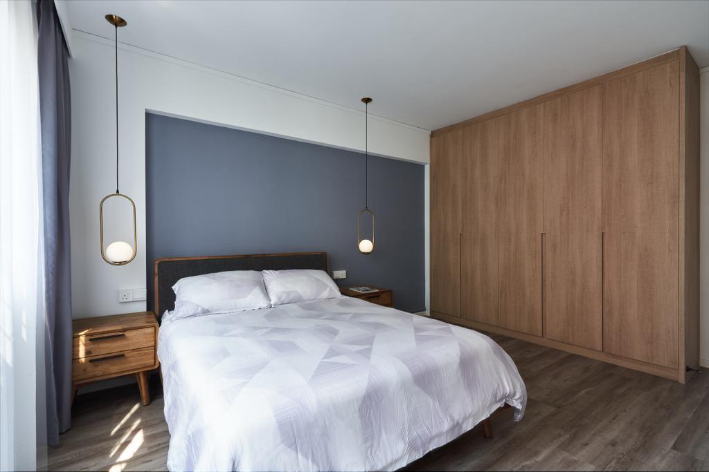 Scandinavian, HDB, Bedroom, Hougang Avenue 5, Interior Designer, The Design Practice