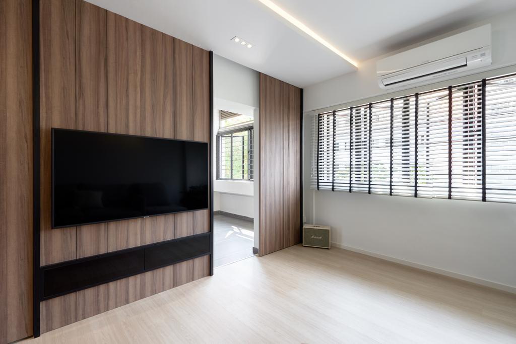 Scandinavian, HDB, Living Room, Hougang Avenue 5, Interior Designer, The Design Practice
