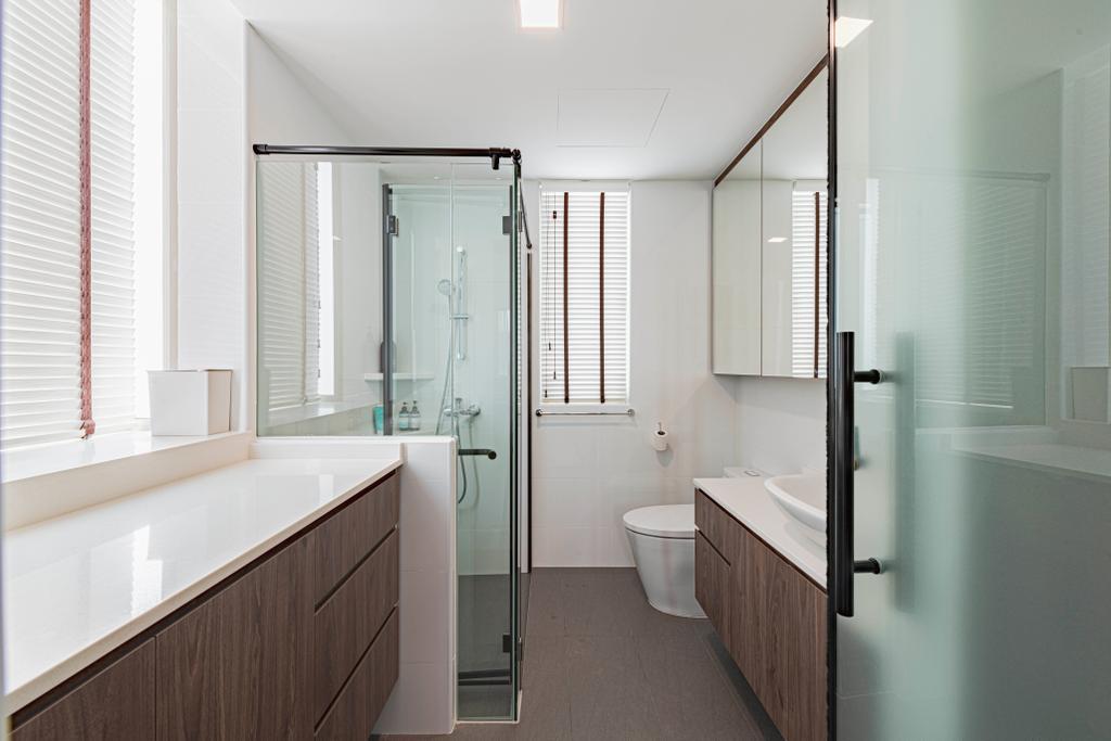 Modern, Condo, Bathroom, Rosewood, Interior Designer, DS 2000 Interior & Design