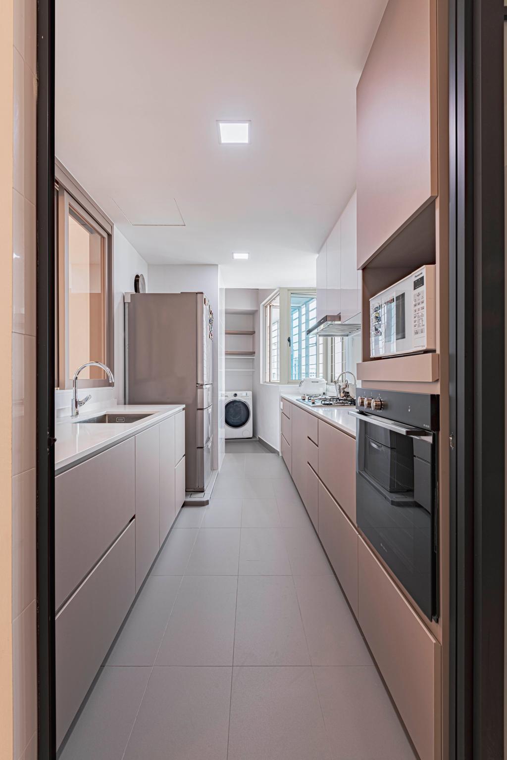 Modern, Condo, Kitchen, Rosewood, Interior Designer, DS 2000 Interior & Design