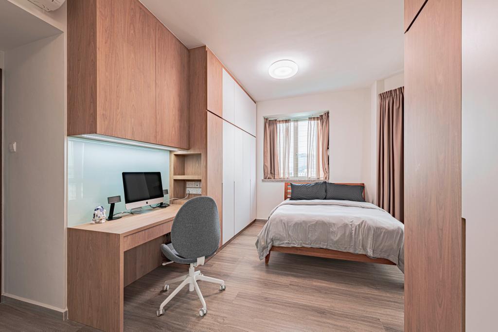 Modern, Condo, Bedroom, Rosewood, Interior Designer, DS 2000 Interior & Design