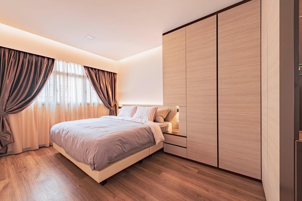 Modern, HDB, Bedroom, Circuit Road, Interior Designer, DS 2000 Interior & Design, Scandinavian