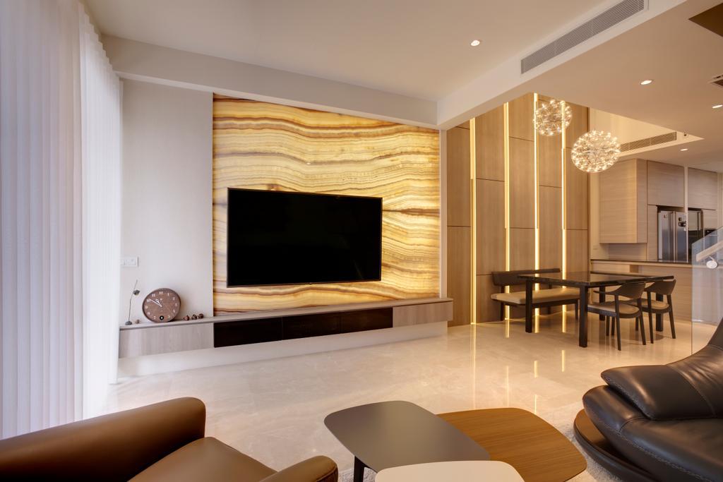 Contemporary, Landed, Living Room, Belgravia Villas, Interior Designer, The Design Practice