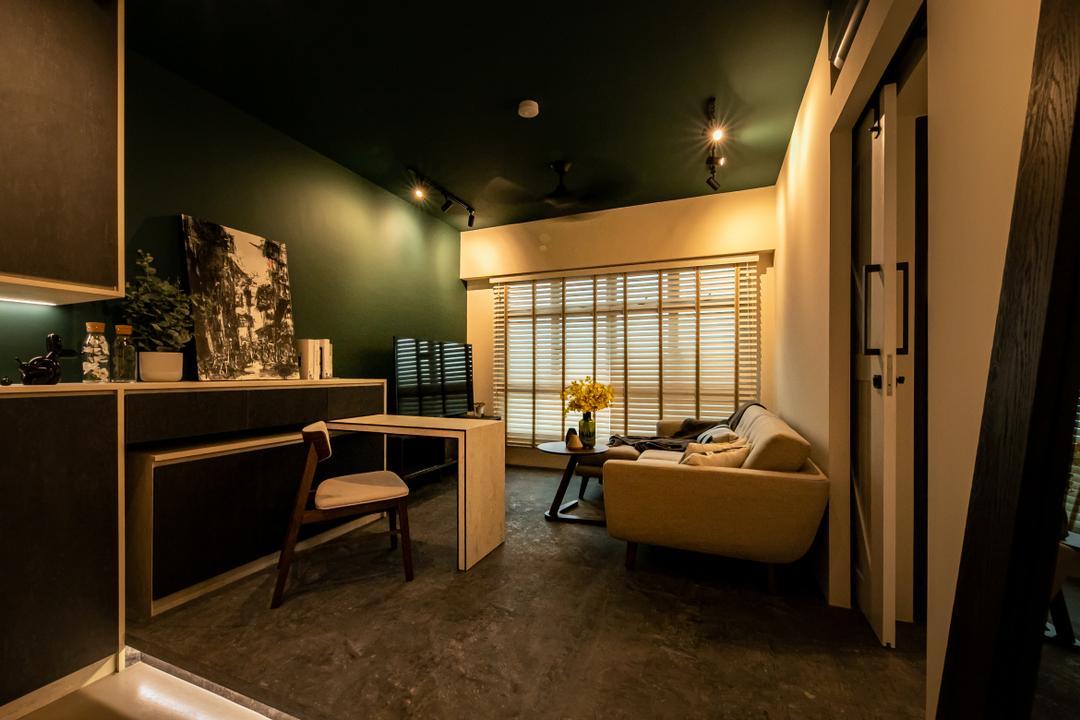 Circuit Road Living Room Interior Design 1