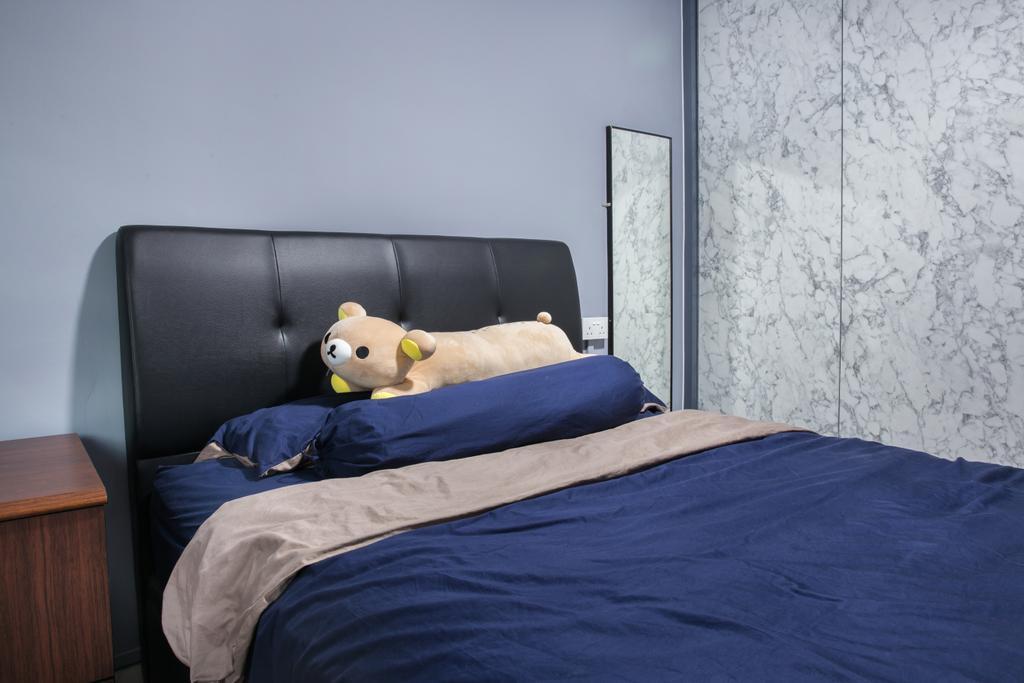 Contemporary, HDB, Bedroom, Compassvale Road, Interior Designer, Interior Times