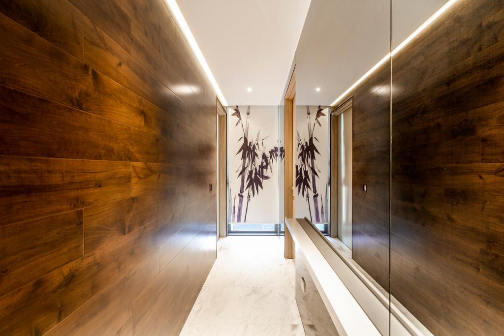 Modern, Condo, One Robin, Interior Designer, Mr Shopper Studio, Corridor, Hallway