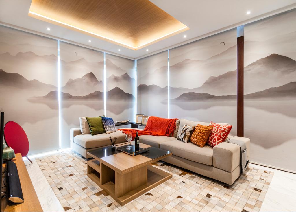 Modern, Condo, Living Room, One Robin, Interior Designer, Mr Shopper Studio