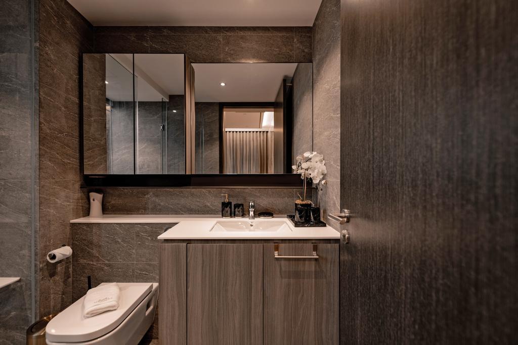 Modern, Condo, Bathroom, The Clement Canopy, Interior Designer, Mr Shopper Studio