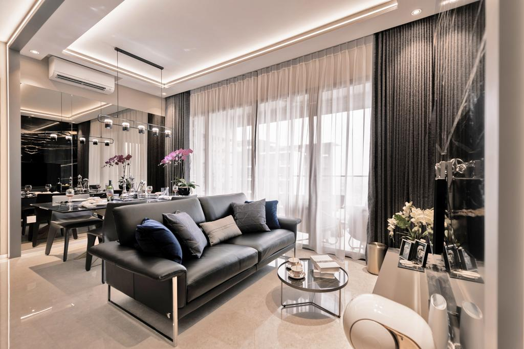 Modern, Condo, Living Room, The Clement Canopy, Interior Designer, Mr Shopper Studio