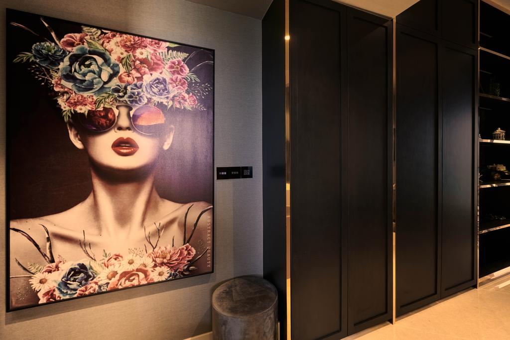 Contemporary, Condo, Botanique At Bartley, Interior Designer, Mr Shopper Studio, Modern, Eclectic