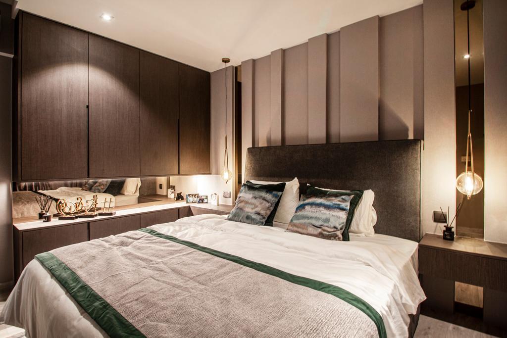 Contemporary, HDB, Bedroom, Circuit Road, Interior Designer, Mr Shopper Studio, Modern