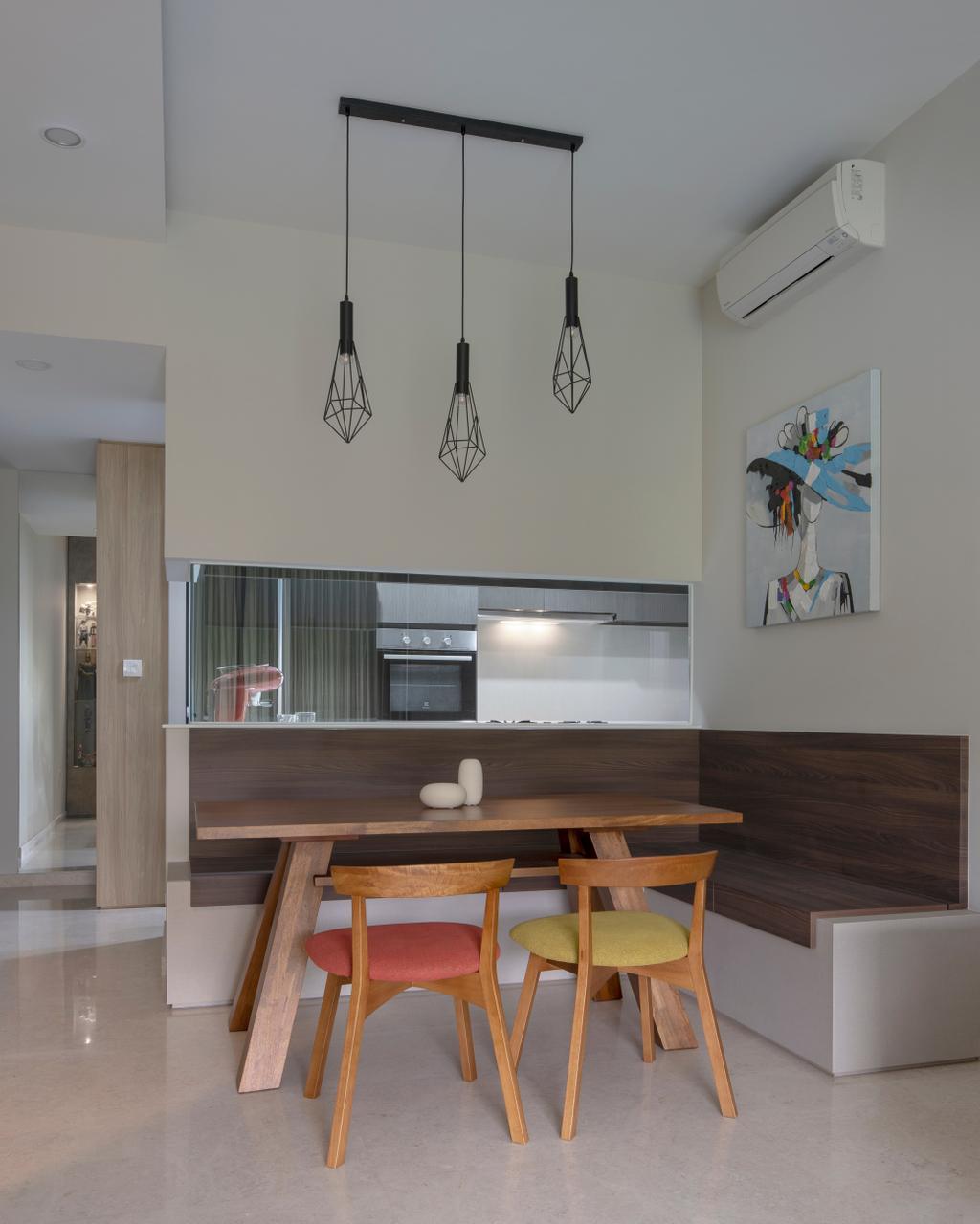 Contemporary, Condo, Dining Room, Thomson Impressions, Interior Designer, Prozfile Design