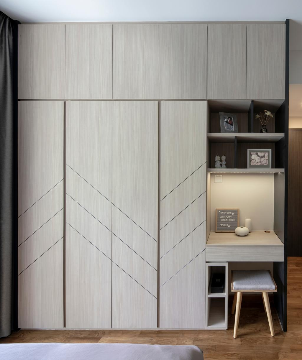 Contemporary, Condo, Study, Thomson Impressions, Interior Designer, Prozfile Design