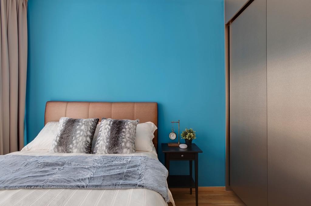 Contemporary, Condo, Bedroom, The Clement Canopy, Interior Designer, Space Factor