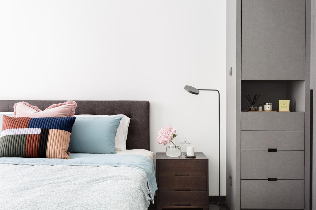Contemporary, Condo, Bedroom, The Seaview, Interior Designer, Habit, Modern