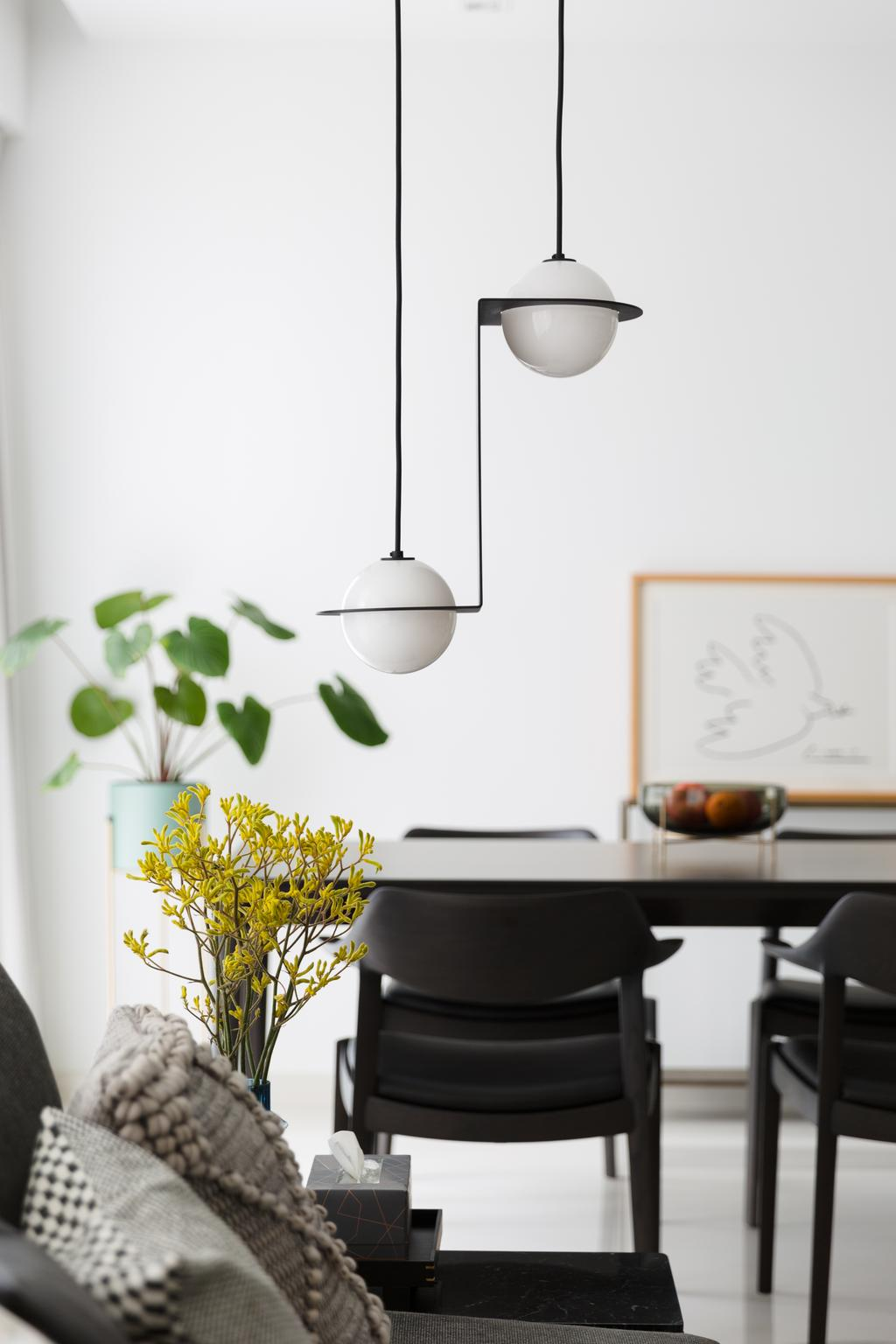 Contemporary, Condo, Dining Room, The Seaview, Interior Designer, Habit, Modern