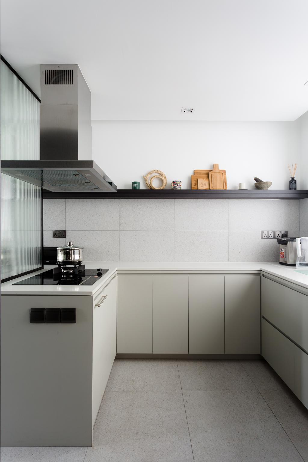 Contemporary, Condo, Kitchen, The Seaview, Interior Designer, Habit, Modern