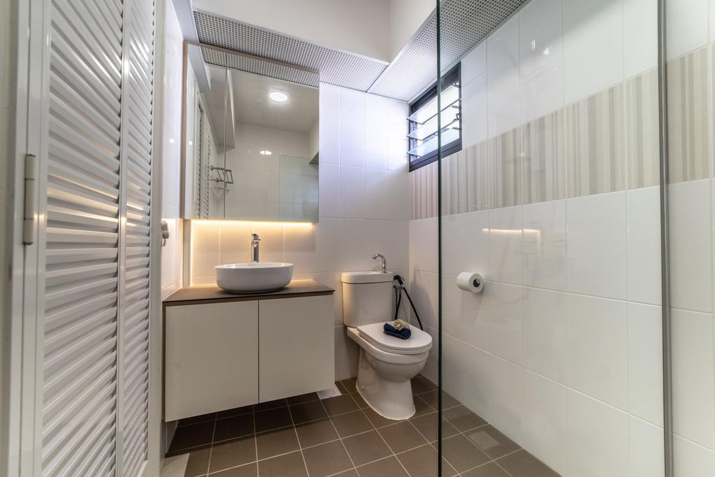 Contemporary, HDB, Bathroom, Toa Payoh East, Interior Designer, Luova Project Services