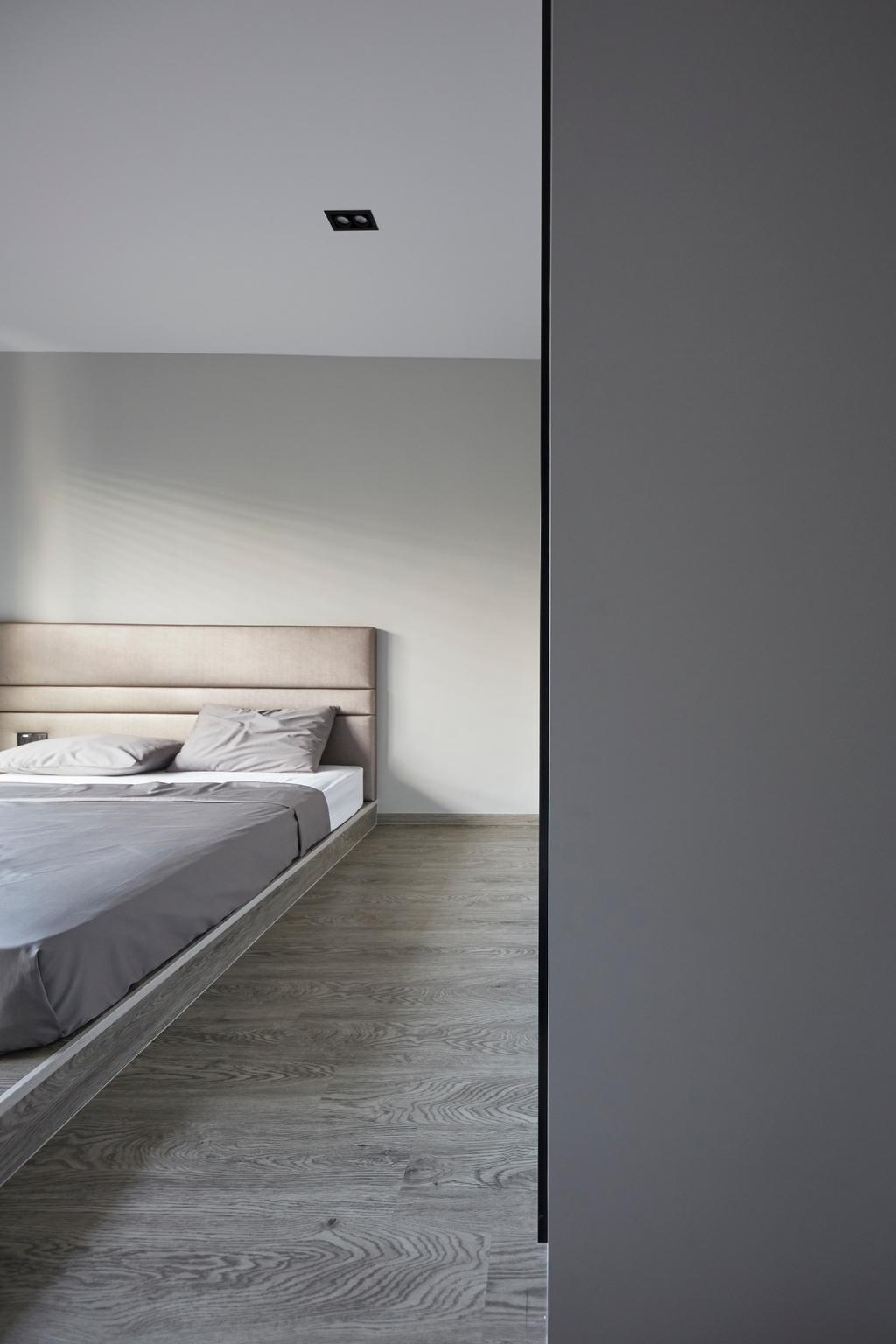 Minimalist, Landed, Bedroom, Jalan Girang, Interior Designer, Blanc