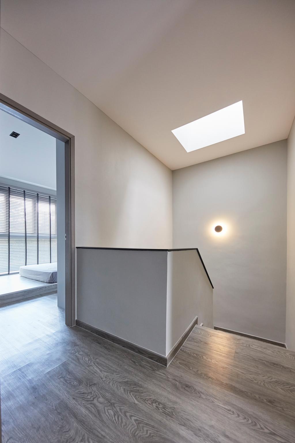 Minimalistic, Landed, Living Room, Jalan Girang, Interior Designer, Blanc