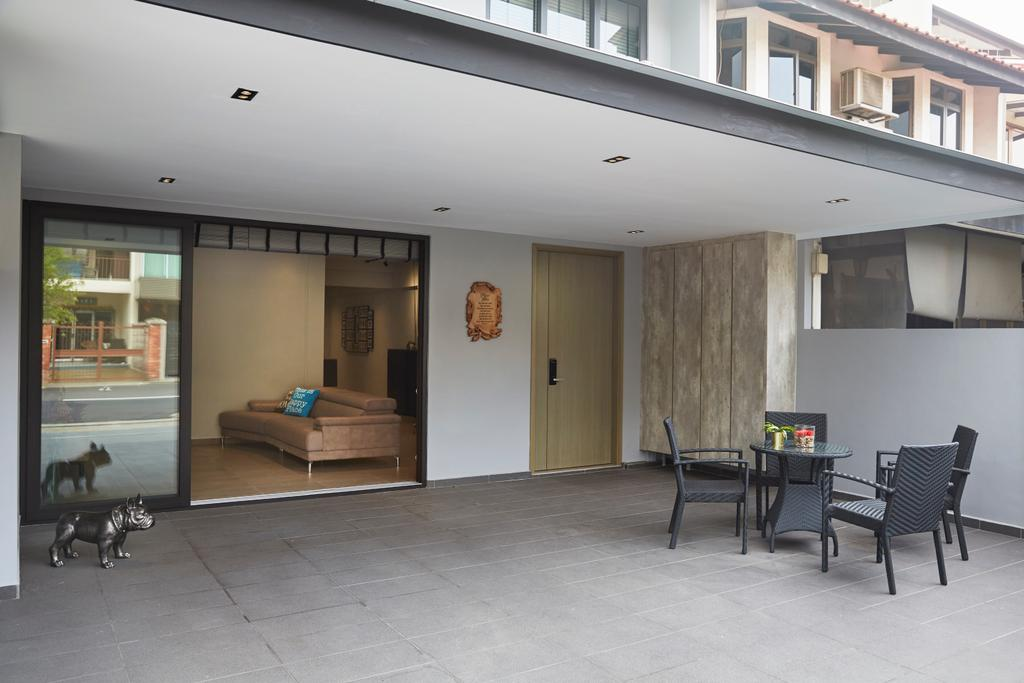 Minimalistic, Landed, Garden, Jalan Girang, Interior Designer, Blanc