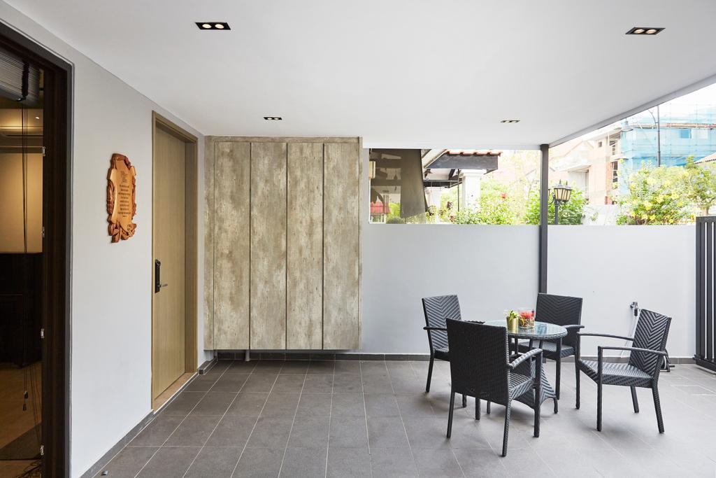 Minimalist, Landed, Garden, Jalan Girang, Interior Designer, Blanc
