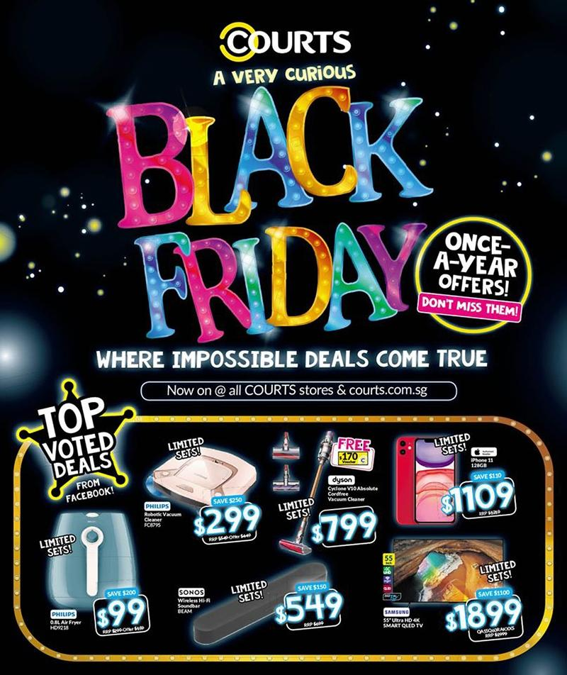 Black Friday Singapore Deals 2019 Furniture Electronics Appliances