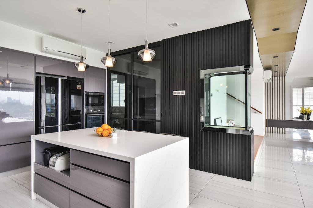 Contemporary, Condo, Kitchen, The Plaza Condominium, TTDI, Interior Designer, Ee Design Studio