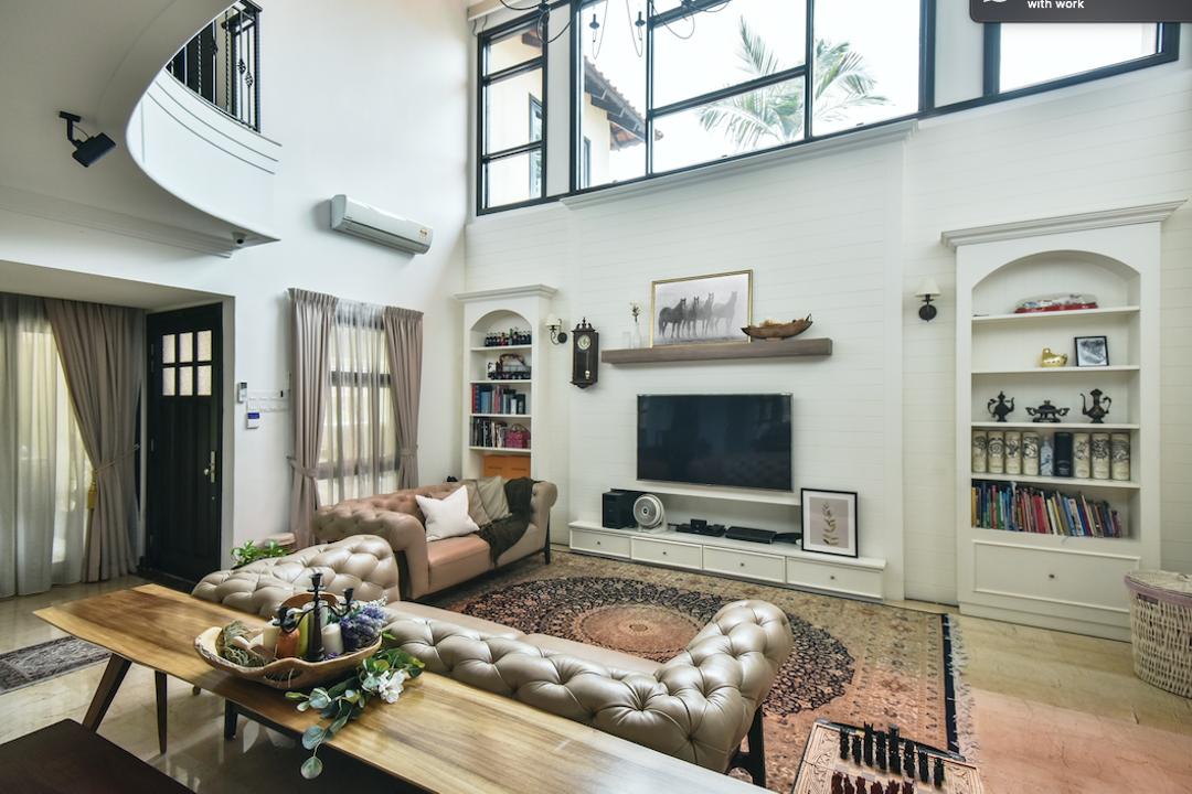 Villa Bovelin, Kuala Lumpur Living Room Interior Design 1