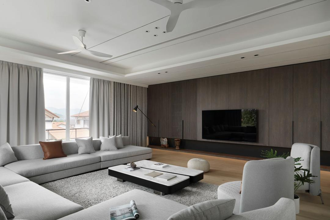 Seremban 2 Living Room Interior Design 10