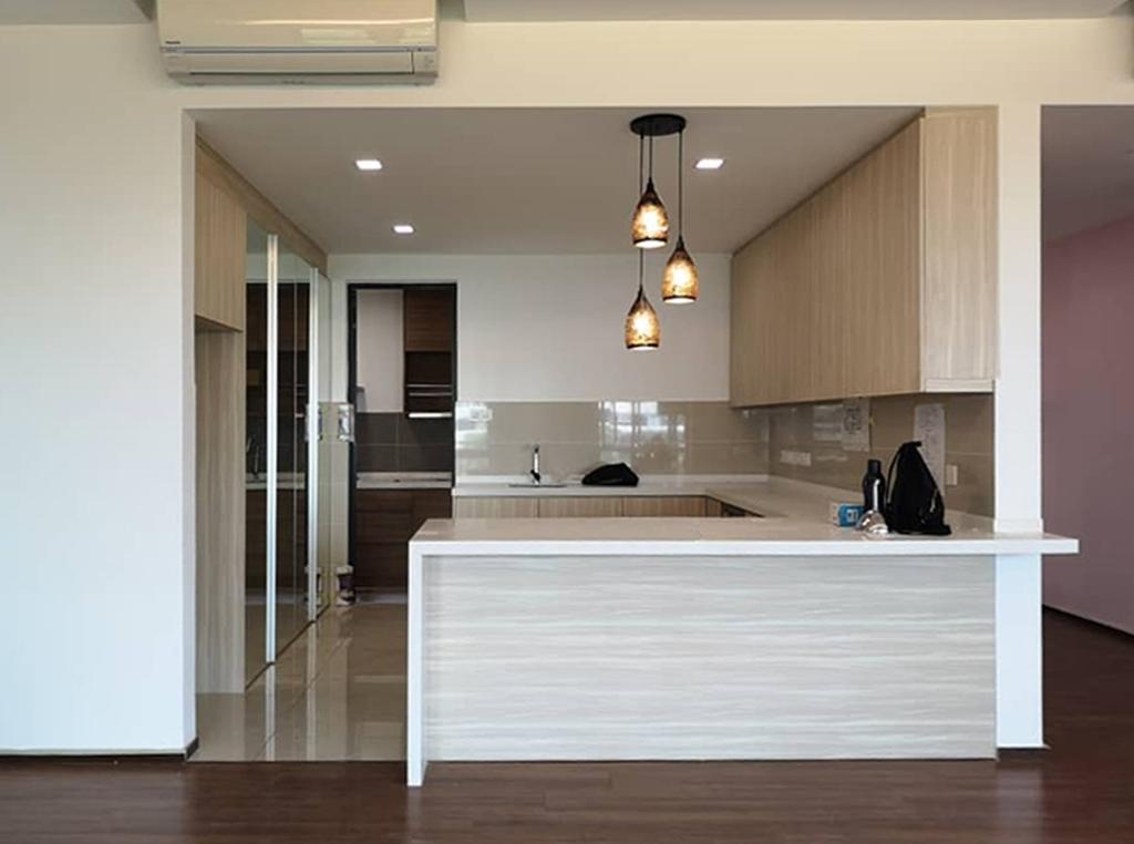 Modern, Apartment, Kitchen, The Potpourri, Ara Damansara, Interior Designer, Spazio Design Sdn Bhd, Contemporary