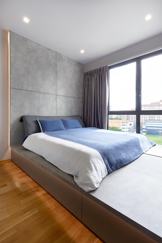 Contemporary, Condo, Bedroom, Botanique At Bartley, Interior Designer, Forefront Interior