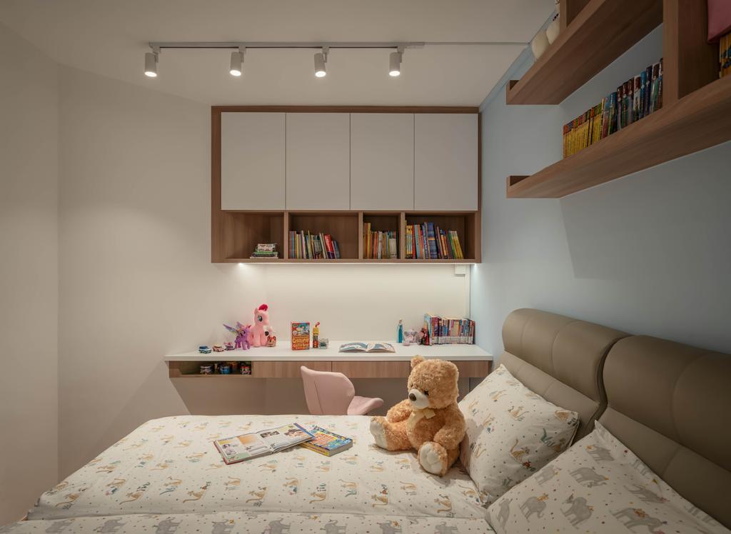 Contemporary, HDB, Bedroom, Redhill Road, Interior Designer, Zenith Arc, Scandinavian