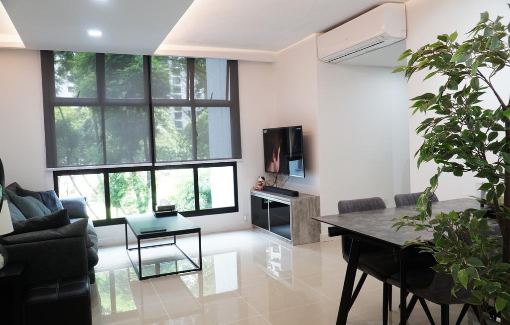 Contemporary, HDB, Living Room, Senja Road, Interior Designer, ING Designers
