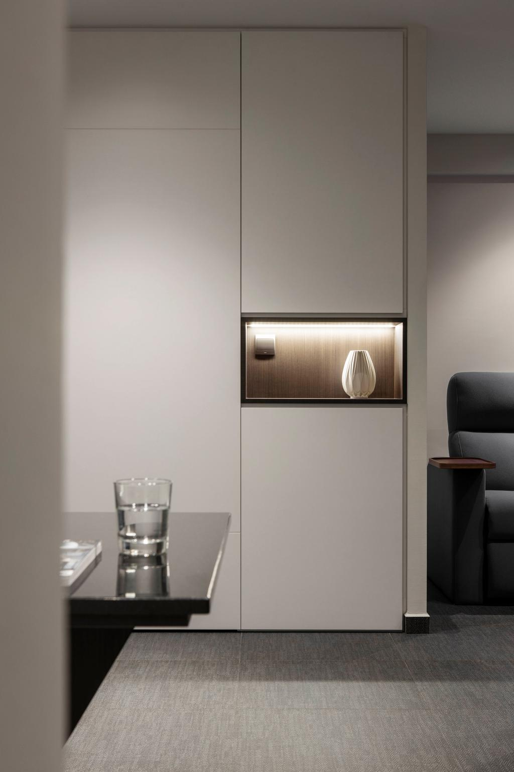 Contemporary, HDB, Living Room, St. George's Lane, Interior Designer, Neu Konceptz