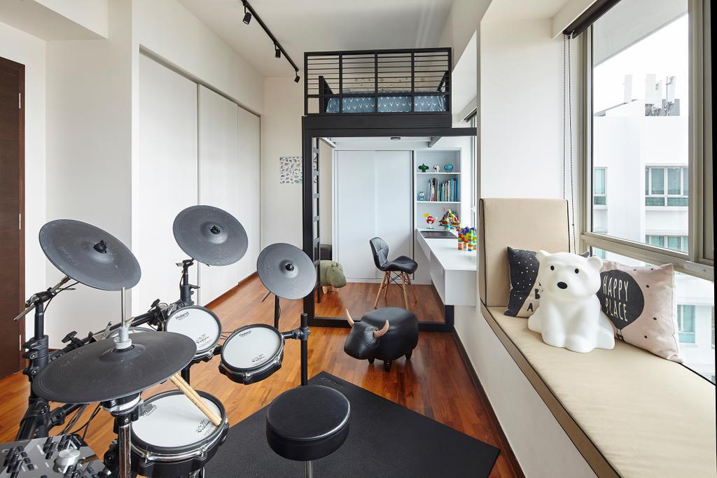 Contemporary, Condo, Livia, Interior Designer, Notion of W