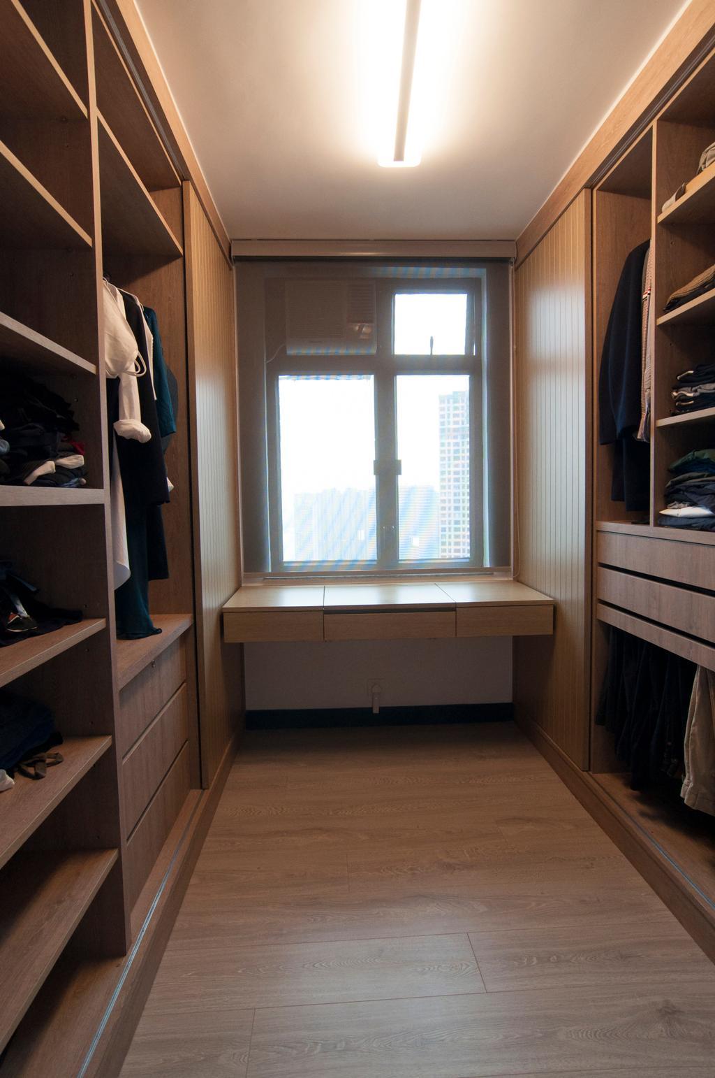 當代, 私家樓, 睡房, 置富花園, 室內設計師, 禾烽室內設計