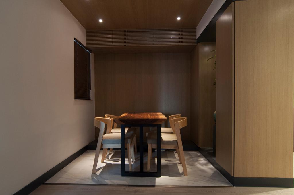 當代, 私家樓, 飯廳, 置富花園, 室內設計師, 禾烽室內設計