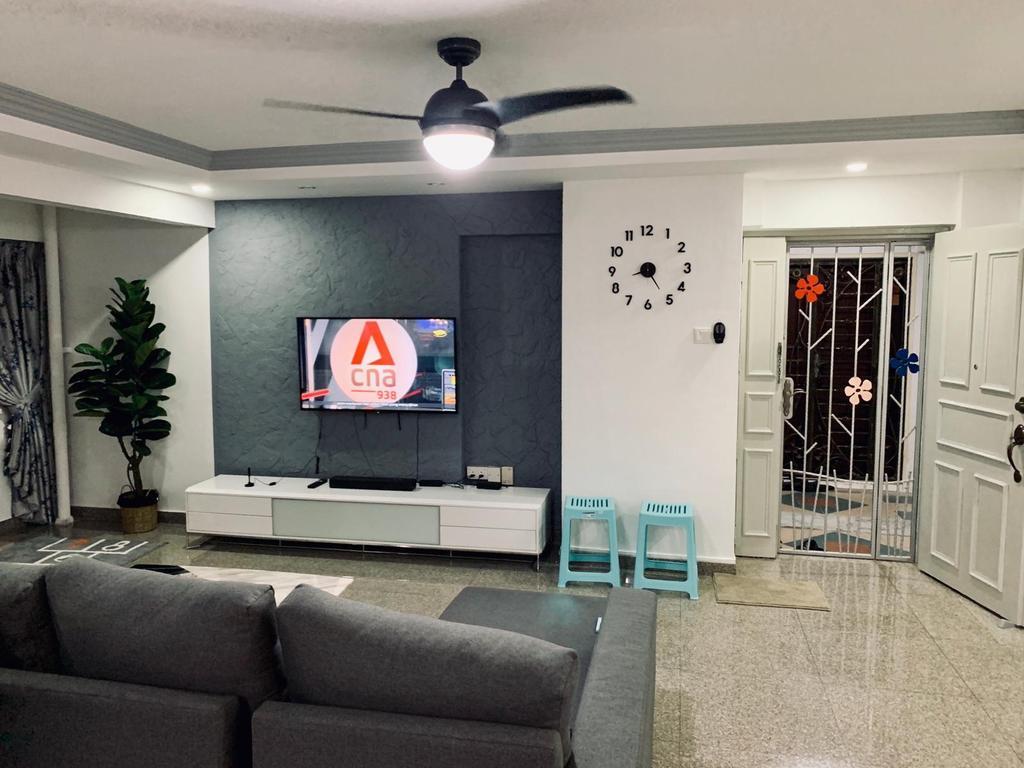 Contemporary, HDB, Living Room, Choa Chu Kang Crescent, Interior Designer, Des & Co Interior