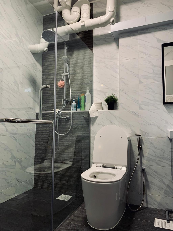 Contemporary, HDB, Bathroom, Choa Chu Kang Crescent, Interior Designer, Des & Co Interior