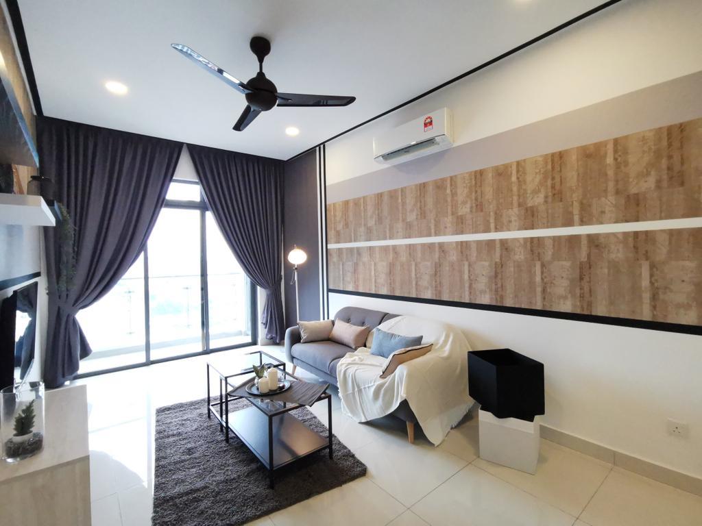 Scandinavian, Condo, Living Room, Vivo Seputeh (D), Old Klang Road, Interior Designer, Ingenious Makeover